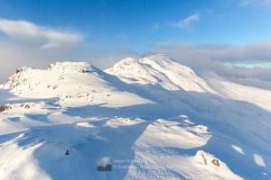The South East Ridge of A' Ghlas-bheinn, Lochalsh & Knoydart
