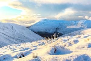 Winter Sunlight Near Bealach na Sroine, Lochalsh & Knoydart
