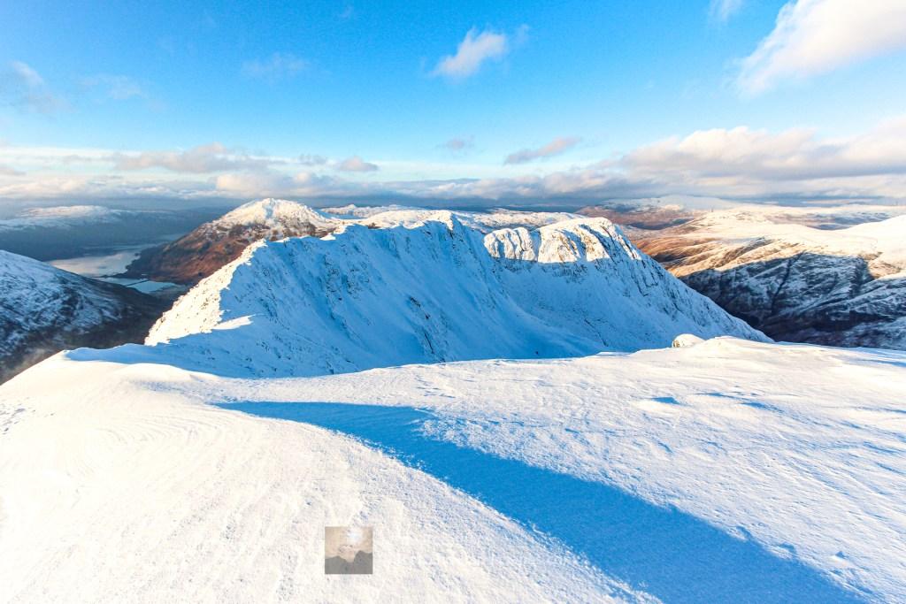 The North West Ridge of Beinn Fhada, Lochalsh & Knoydart