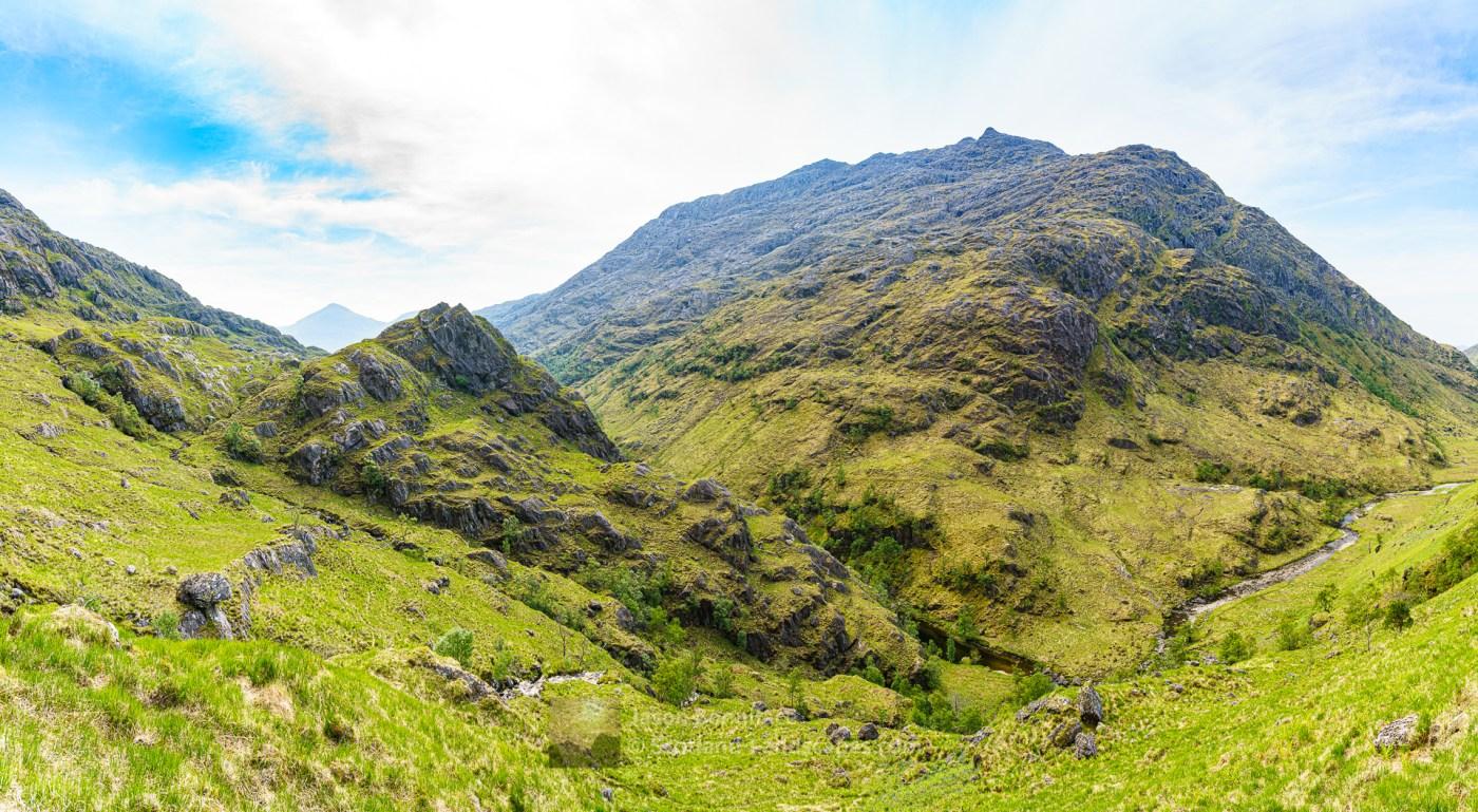 The North Ridge of Beinn an Aodainn (Ben Aden), Lochalsh & Knoydart