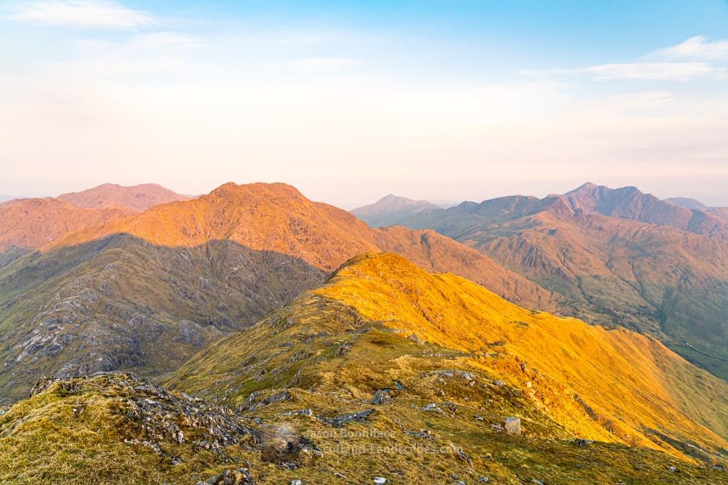 First Sun on the Knoydart Munros, Lochalsh & Knoydart