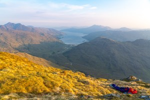 A Bivvy with a View, Sgurr a' Choire-bheithe, Lochalsh & Knoydart