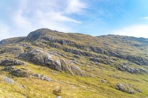 Sgurr a' Choire-bheithe from Mam Unndalain, Lochalsh & Knoydart