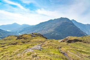 Beinn an Aodainn (Ben Aden) and West from Below the Mam Unndalain, Lochalsh & Knoydart