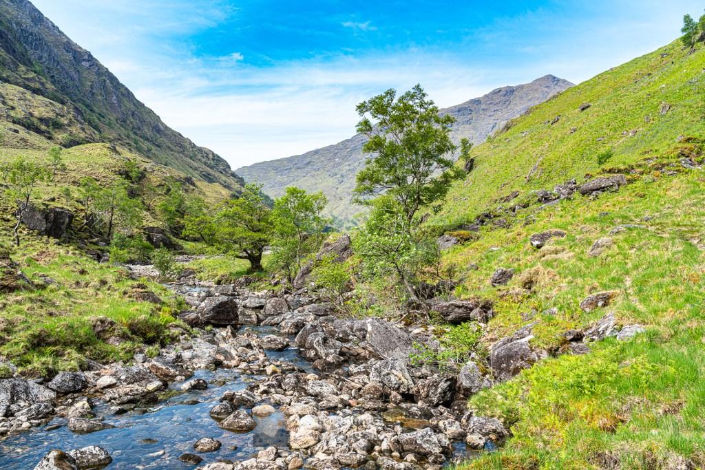 The River Carnach Below Beinn an Aodainn (Ben Aden), Lochalsh & Knoydart