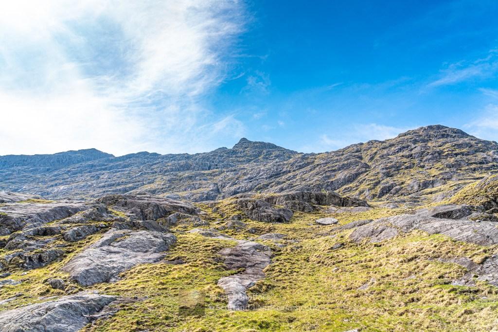 Beinn an Aodainn (Ben Aden) - Lower North Ridge/Face, Lochalsh & Knoydart