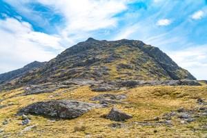 Beinn an Aodainn (Ben Aden) - Upper North Ridge, Lochalsh & Knoydart