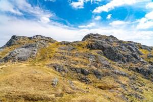 Beinn an Aodainn (Ben Aden) Summit from the North West, Lochalsh & Knoydart