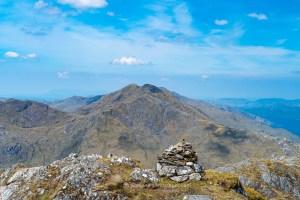 Luinne Bheinn from the Summit of Beinn an Aodainn (Ben Aden), Lochalsh & Knoydart