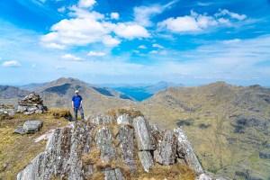 Me on the Summit of Beinn an Aodainn (Ben Aden), Lochalsh & Knoydart