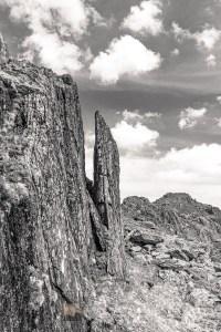 Spectacular Rock Scenary - Beinn an Aodainn (Ben Aden) East Ridge, Lochalsh & Knoydart