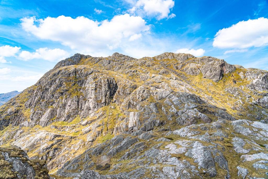 The East Ridge/Flank of Beinn an Aodainn (Ben Aden), Lochalsh & Knoydart