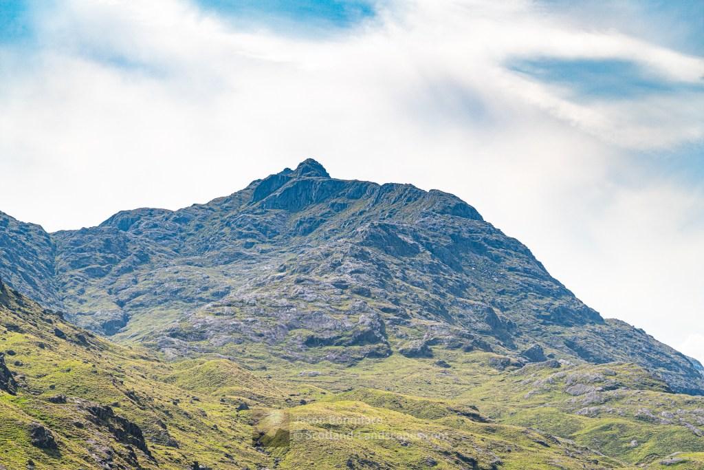 The East-North-East Ridge of Beinn an Aodainn (Ben Aden), Lochalsh & Knoydart