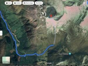 Google Maps Screenshot - Ben Nevis
