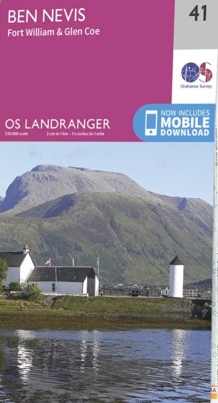 OS Landranger map image