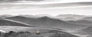 Evening Panorama from Cairn Gorm, Cairngorm