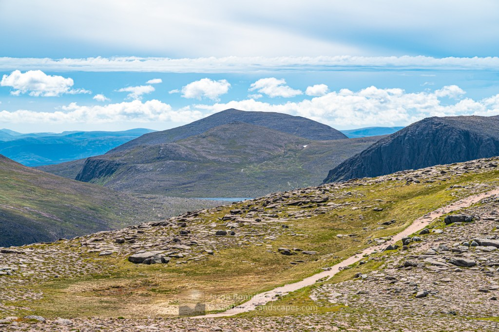 Derry Cairngorm from the North, Cairngorm