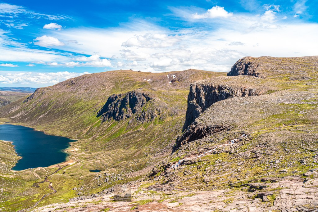 Beinn Mheadhoin, the Shelter Stone Crag and Carn Etchachan, Cairngorm