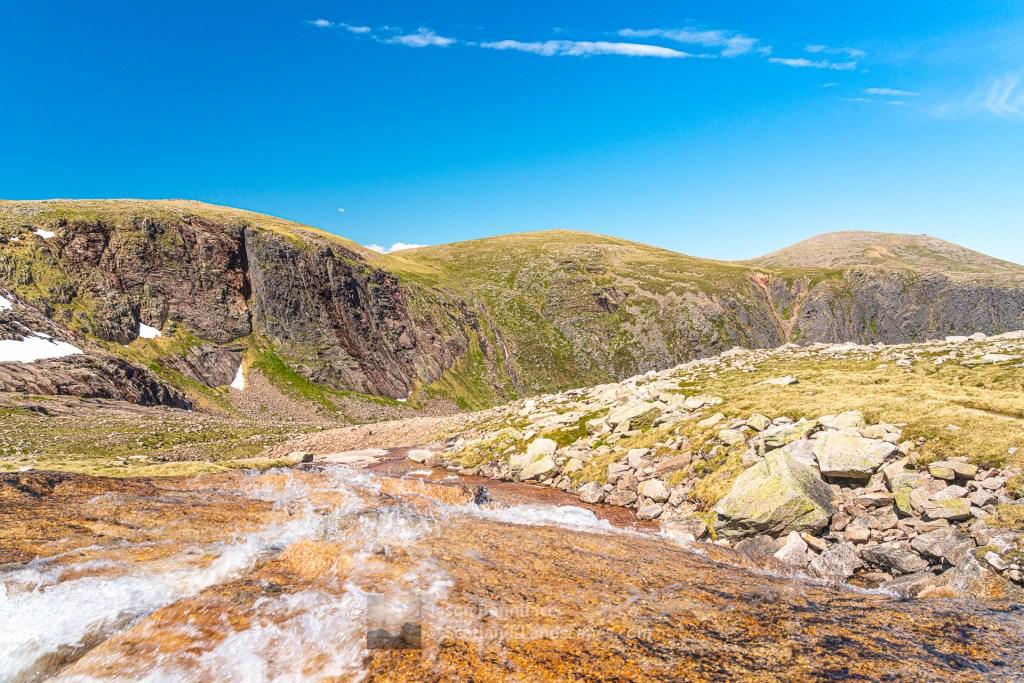 Ben Macdui Melt Water - Garbh Uisge Mor, Cairngorm