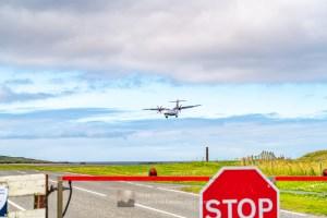 Main Road Closure for Arrival - Sumburgh Airport, Shetland
