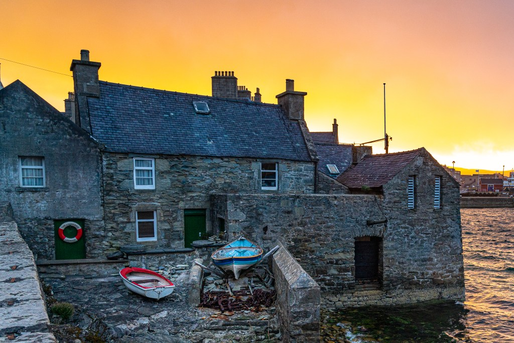 The Lodberry - Scenic Home of Jimmy Perez in the TV Series Shetland
