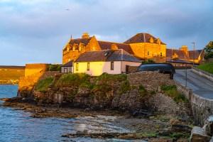 Evening light - Lerwick, Shetland