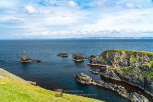 Bark Stack, Fethaland and Yell Beyond, Shetland