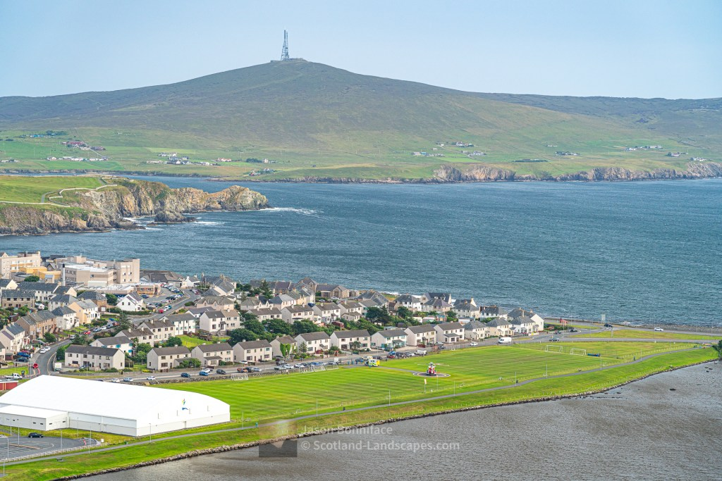 Helicopter to Ambulance Transfer, Lerwick, Shetland