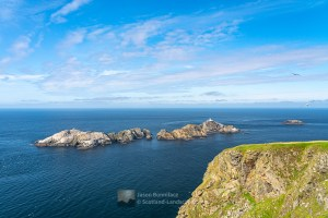The Northern End of the British Isles - Muckle Flugga and Out Stack