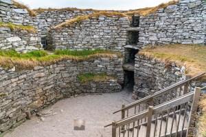 Inside Clickimin Broch - 2, Shetland